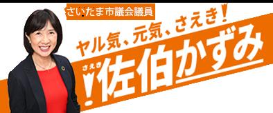 佐伯かずみ(佐伯加寿美)さいたま市議会議員大宮区 公式サイト